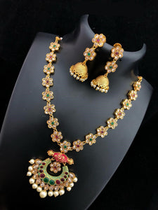 Meenakari Mala Necklace