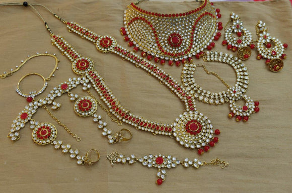 Full Bridal Jewelry Combo