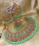 Beautiful Kundan And Beads Choker
