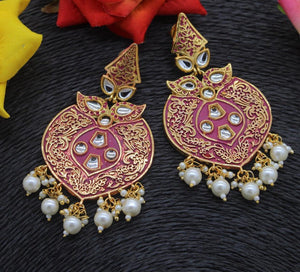 Meenakari Dangle Earrings