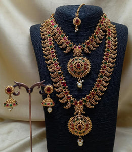 Bridal Necklace Combo-9
