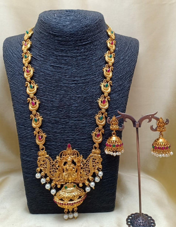 Long Haram Temple Necklace