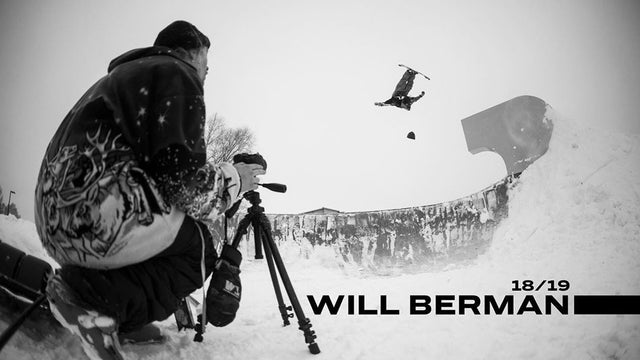 WILL BERMAN TAKES TO THE STREETS FOR 18/19 SEASON EDIT