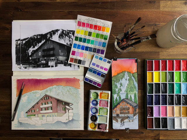 PAINT BY POWDER - LEXI DOWDALL'S QUEST TO PAINT ALL UTAH SKI RESORTS