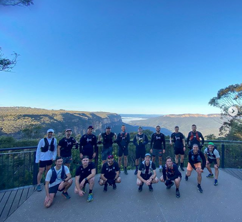 The Vipers Run Club Meet Up In The Blue Mountains, NSW