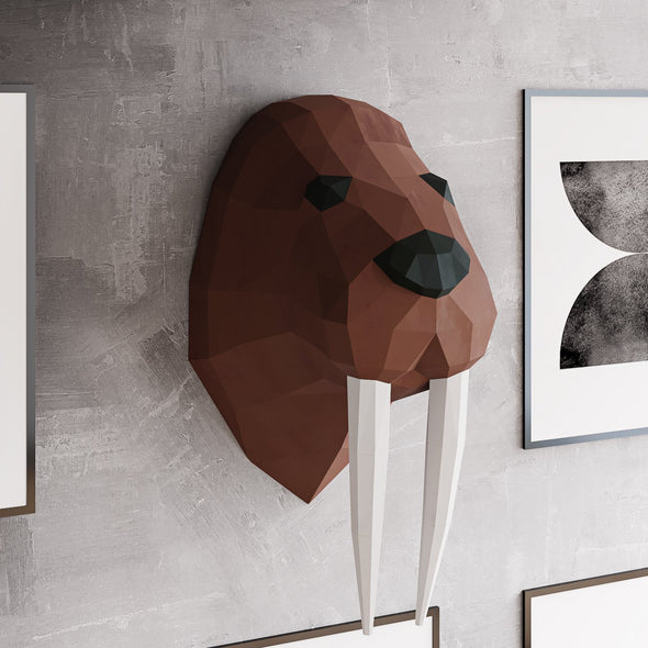Walruses Papercraft Kit