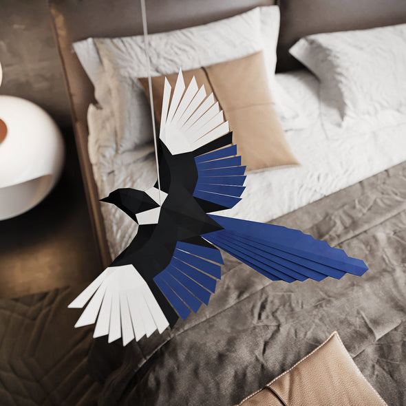 Flying Bird Papercraft Kit