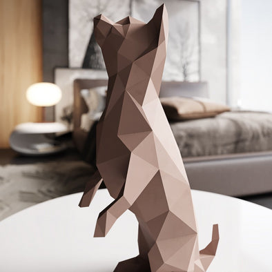 Dog Papercraft Kit