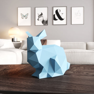 Rabbit Papercraft Kit