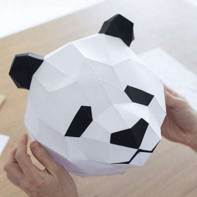 Giant Panda Papercraft Kit