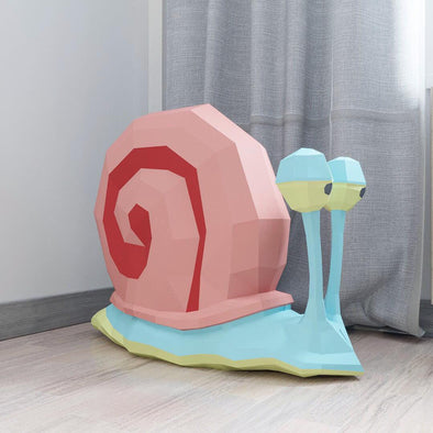 Gary The Snail from SpongeBob SquarePants Papercraft Kit