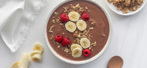 Chocolate Almond Butter Smoothie Bowl + BEST