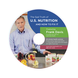 "DVD ""The Sad Truth of US Nutrition and How to Fix It"""