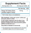 Pain 90 Bundle Supplement Facts