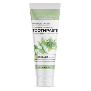 20 ppm Nano-SilverSol Toothpaste