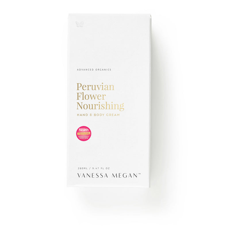 Vanessa Megan 100% Natural Peruvian Flower Nourishing Hand & Body Cream