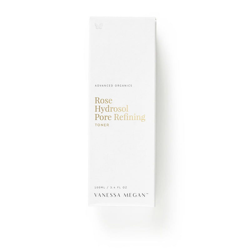 Vanessa Megan 100% Natural Rose Hydrosol Pore Refining Toner 100ml