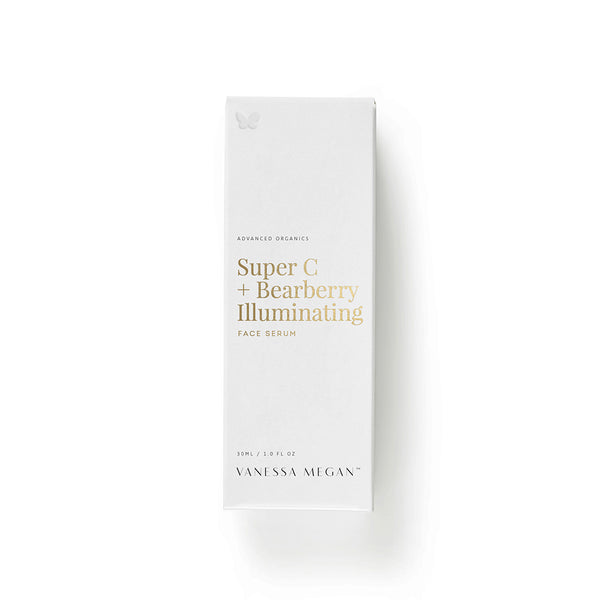 Vanessa Megan 100% Natural Super C + Bearberry Illuminating Face Serum