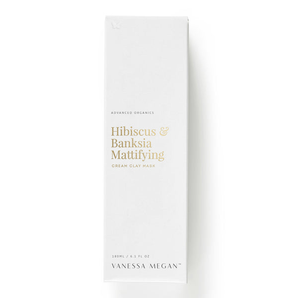 Hibiscus & Banksia Mattifying Cream Clay Mask