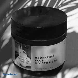 Hydrating Face Moisturizer - Pretty In Pinkston  Skincare