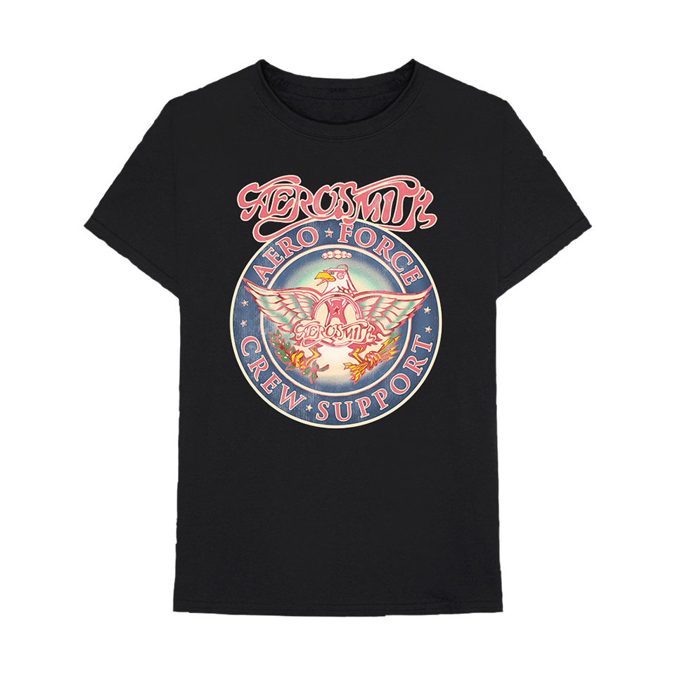 Aeroforce Crew Support Tee by Aerosmith, available on aerosmith.com for $45 Kendall Jenner Top SIMILAR PRODUCT