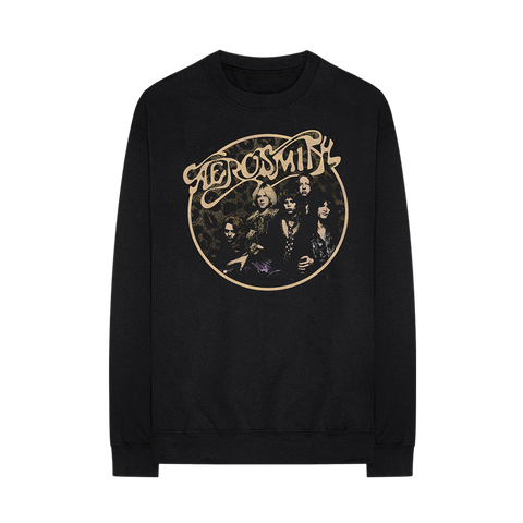 Leopard Fleece Crew Neck