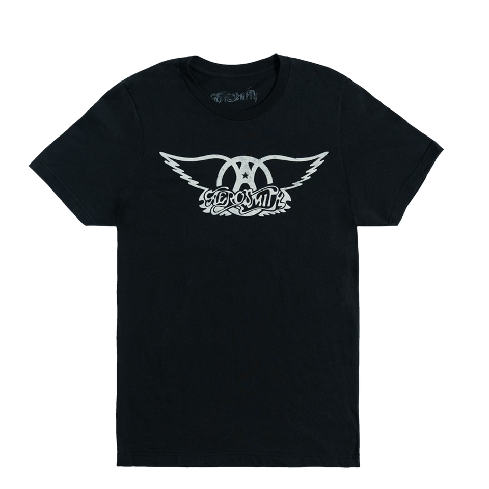 CLASSIC WINGS LOGO TEE by Aerosmith, available on aerosmith.com for $45 Kendall Jenner Top SIMILAR PRODUCT