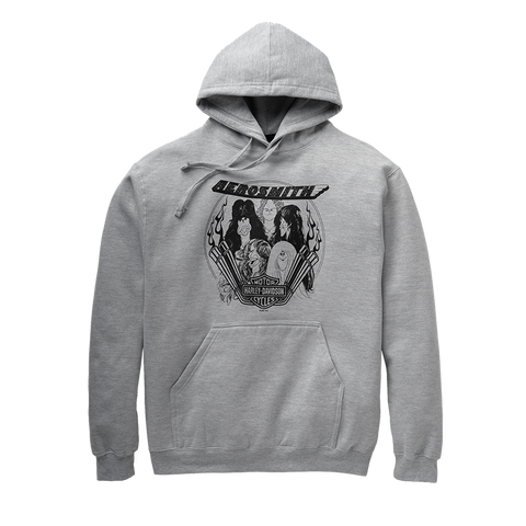 Harley-Davidson® x Aerosmith Draw the Line Hoodie