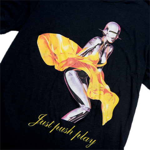 JUST PUSH PLAY TEE