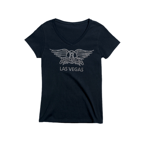 Vegas Bling V-Neck (Womens)