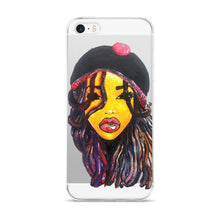 Load image into Gallery viewer, Dope Dreads Locs Natural Hair Queen  iPhone 5/5s/Se, 6/6s, 6/6s Plus Case