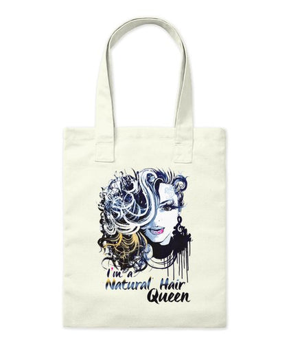 I'm A Natural Hair Queen Tote Bag