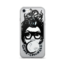 Load image into Gallery viewer, Afro Black Short Fro Bubble Gum Natural Hair Diva iPhone 7/7 Plus Case