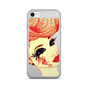 The Queen In Us Natural Hair Braids T-Shirt iPhone 7/7 Plus Case