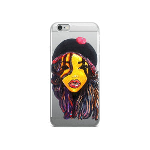 Dope Dreads Locs Natural Hair Queen  iPhone 5/5s/Se, 6/6s, 6/6s Plus Case