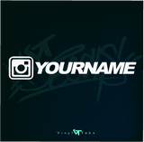 INSTAGRAM DECALS -(BULK DEAL) $1