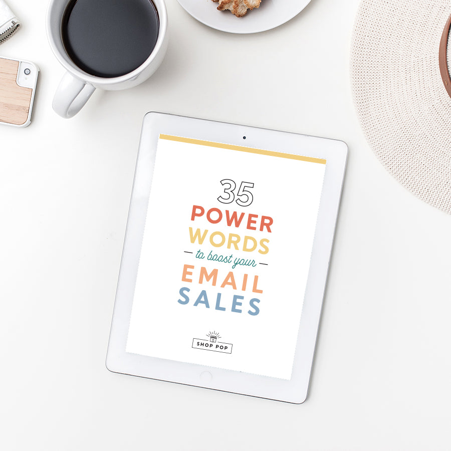 35 power words for better marketing emails