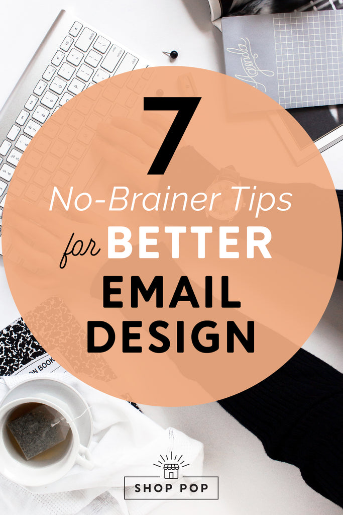 tips for ecommerce email design