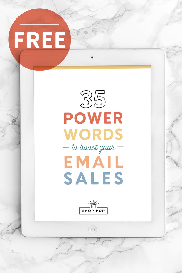 35 Power Words to Boost Email Sales