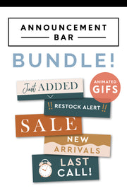 email announcement bar bundles gif shop pop