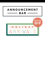 Holiday Arrivals Marketing GIF