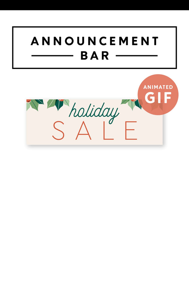 Holiday Sale Marketing GIF