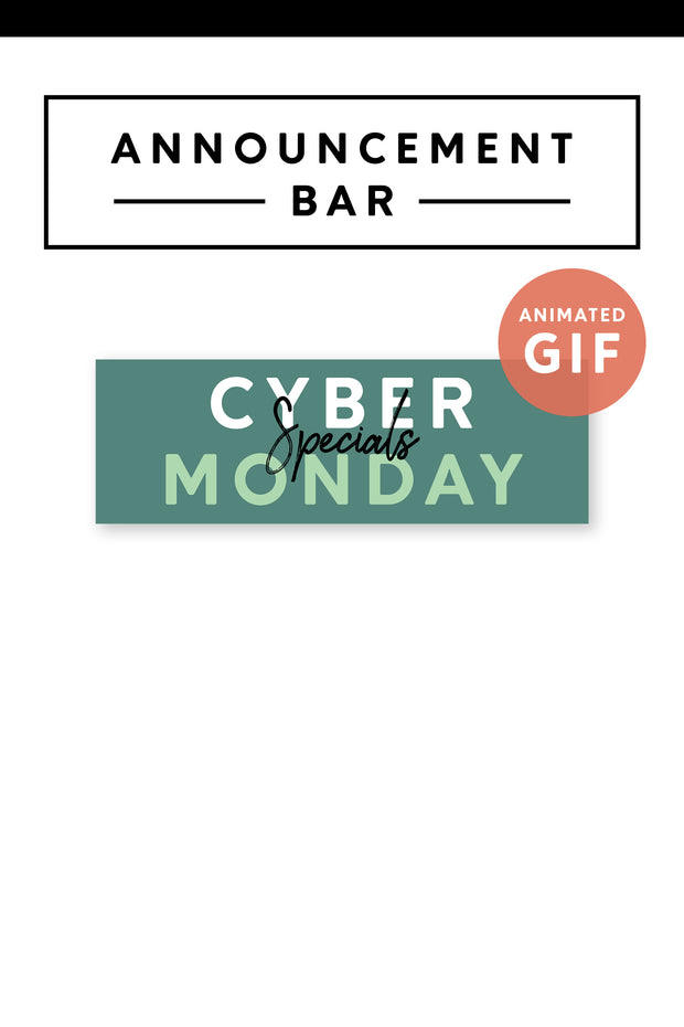 Cyber Monday Marketing GIF
