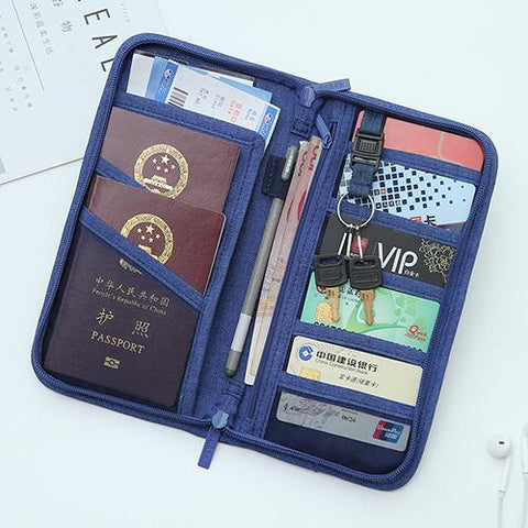 RFID Blocking Passport Documents Storage Bag.