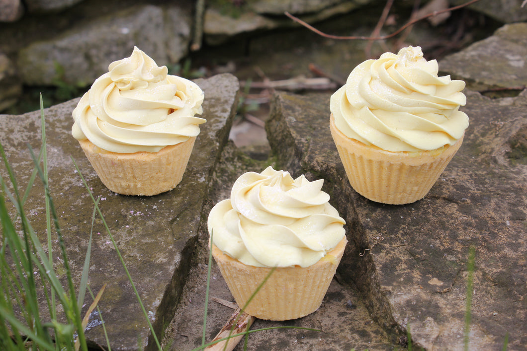 Lemon Bath Cupcake