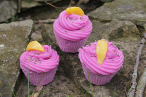 Lemon Lavender Bath Cupcake
