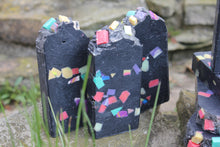 Load image into Gallery viewer, Confetti Charcoal Soap