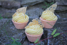 Load image into Gallery viewer, Honey Almond Bath Cupcake