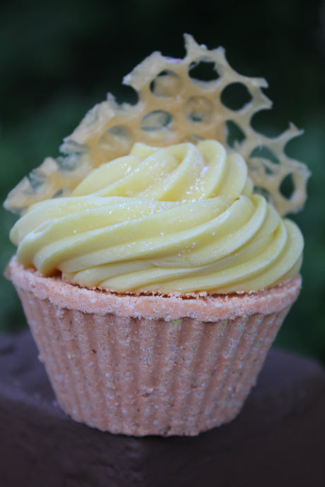 Honey Almond Bath Cupcake
