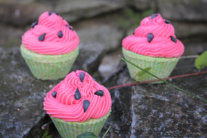 Watermelon Bath Cupcake